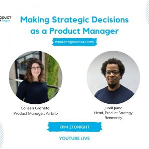 ProductTank Lagos: World Product Day 2020!