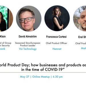 ProductTank Stockholm: World Product Day 2020