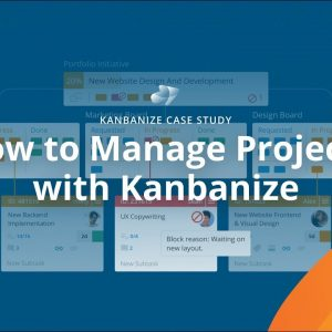 Project Management with Kanbanize