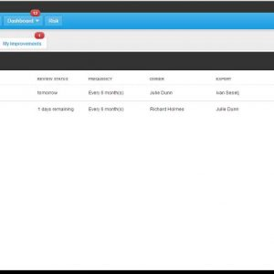 Promapp BPM Process Dashboard in the cloud