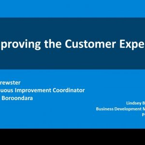Promapp webinar: City of Boroondara: Improving the Customer Experience