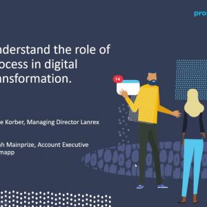 Promapp webinar: The role of process in digital transformation