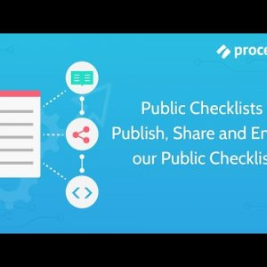 Public Checklists - Publish, Share and Embed our Public Checklists
