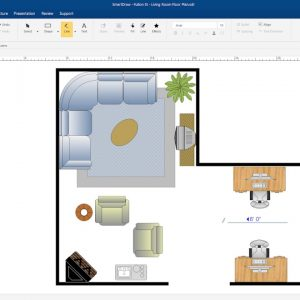 Quick Introduction: Create a Floor Plan with SmartDraw