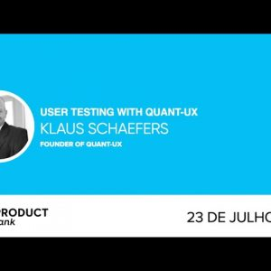 ProductTank Curitiba: User Testing with Quant-UX Founder, Klaus Schaefers