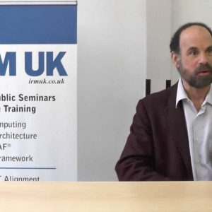 Mike Rosen on his Understanding Enterprise Architecture Seminar taking place in London