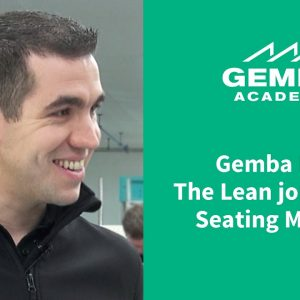 Seating Matters in Ireland - Why Lean?