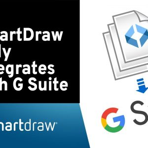 SmartDraw Fully Integrates with G Suite and Google Drive