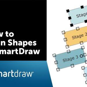 SmartDraw Tip: How to Align Shapes