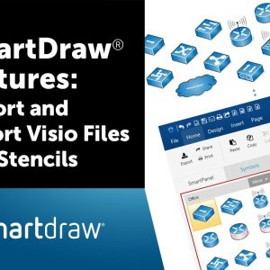 SmartDraw Visio Compatibility: Import and Export