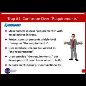 Software Requirements: 10 Traps to Avoid - 2016 11 17 Webinar