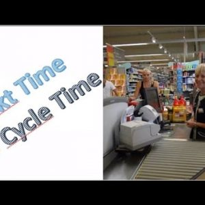Takt Time vs Cycle Time - Cashier's Metaphor