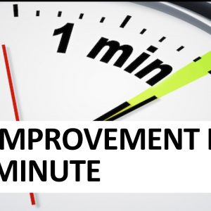 The Improvement Kata in One Minute