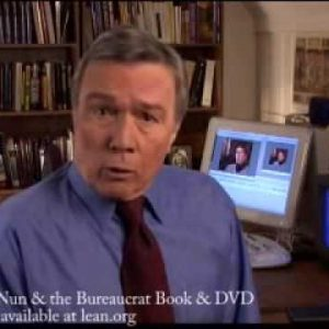 The Nun and Bureaucrat Book and DVD