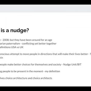 To Nudge Or Not To Nudge That Is The Question! With Andy Tabberer
