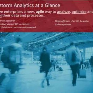 Rapid Analytics – A visual, live approach to requirements gathering and B analytic  development
