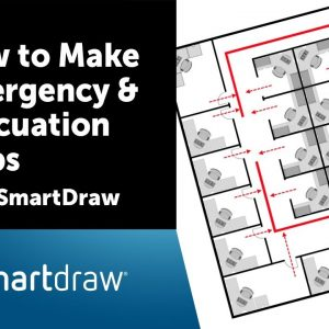 Evacuation Plans, Fire Preplans, and Other Emergency Planning with SmartDraw