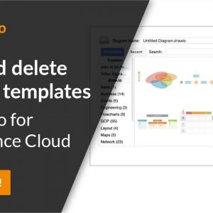 Using custom templates in draw.io for Atlassian Confluence Cloud