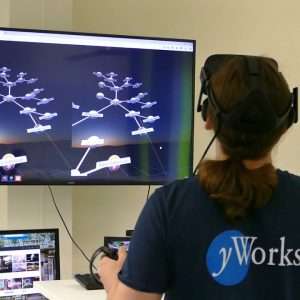 Using Virtual Reality for the Exploration of Graph Visualizations