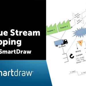 Value Stream Mapping with SmartDraw
