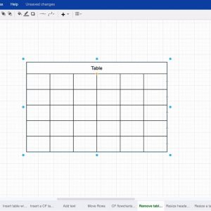 Remove horizontal and vertical lines in your draw.io tables for Confluence