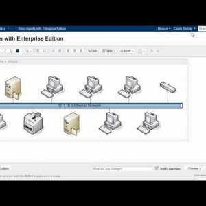 Visio imports with Gliffy Confluence Plugin: Enterprise Edition