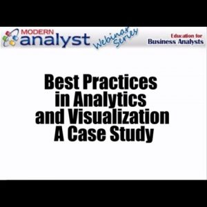 Webinar: Best Practices in Analytics and Visualization