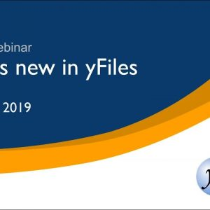 Webinar: What's new in yFiles 2019