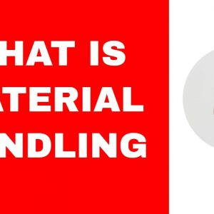 What is Material Handling and the Waterspider Role