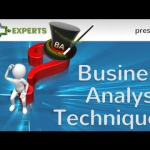 What Techniques Do Business Analysts Use?