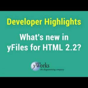 yFiles for HTML 2.2 Developer Highlights