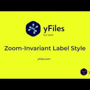 Zoom Invariant Label Style