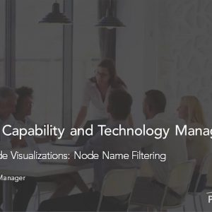 Planview Enterprise One r15 - Enterprise Node Visualizations Node Name Filtering