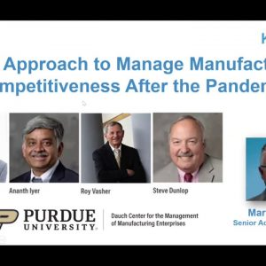 A TP3 Approach to Manage Manufacturing Competitiveness After the Pandemic [Webinar Recording]