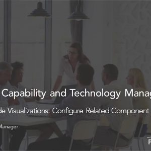 Planview Enterprise One r15 - Enterprise Node Visualizations Configure Related Component Types