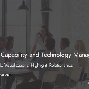 Planview Enterprise One r15 - Enterprise Node Visualizations Highlight Relationships