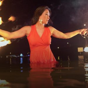 I stepped out of grief -- by dancing with fire | Danielle Torley