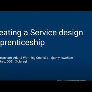 New Service Design Apprenticeship - Futurefest