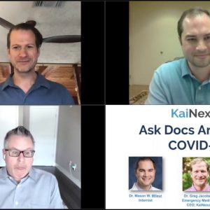 Ask Doctors Anything -- Covid-19 Questions From the Public, Answers From Two Physicians