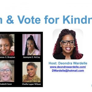 Plan & Vote for Kindness -- Virtual Panel Discussion