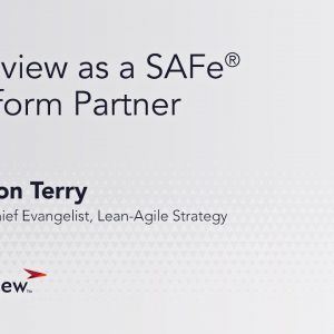 Planview as a SAFe Platform Partner