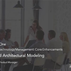 Planview Enterprise One r16 - Cloud based Architectural Modeling