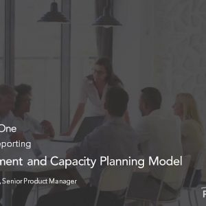 Planview Enterprise One r16 - New Investment and Capacity Planning Model
