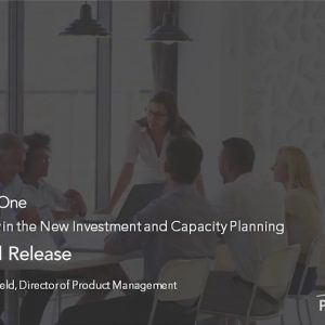 Planview Enterprise One r16 - Product and Release