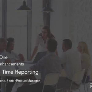 Planview Enterprise One r16 - Team based Time Reporting
