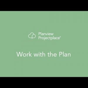 Planview Projectplace - Work with the Plan