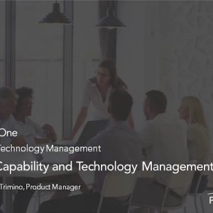 Planview Enterprise One r16 - Extending Capability and Technology Management for Products