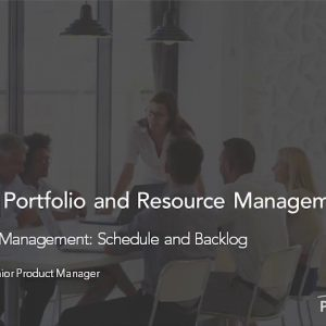 Planview Enterprise One r15 - Iterative Work Management Schedule and Backlog