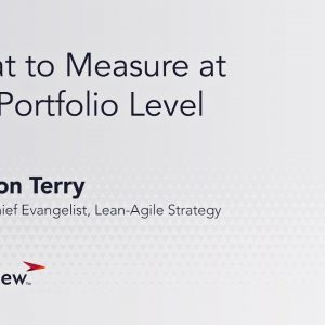 What to Measure at the Portfolio Level