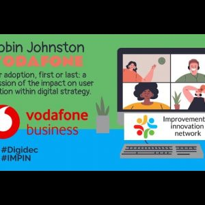 Digital December - Robin Johnstone - Vodafone - User Adoption
